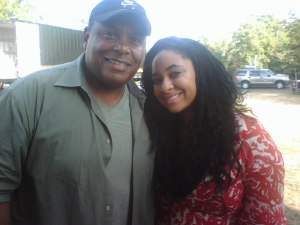 Bill Bloom and Raven Symone